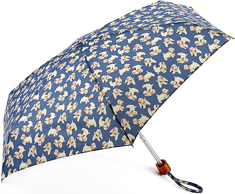 Зонт женский Fulton, механический, 5 сложений, цвет: синий, бежевый. L521-322645100948B/32793/5900NСтильный механический зонт Fulton имеет 5 сложений, даже в ненастную погоду позволит вам оставаться стильной. Легкий, но в тоже время прочный алюминиевый каркас состоит из шести спиц с элементами из фибергласса. Купол зонта выполнен из прочного полиэстера с водоотталкивающей пропиткой. Рукоятка закругленной формы, разработанная с учетом требований эргономики, выполнена из дерева. Зонт имеет механический способ сложения: и купол, и стержень открываются и закрываются вручную до характерного щелчка.