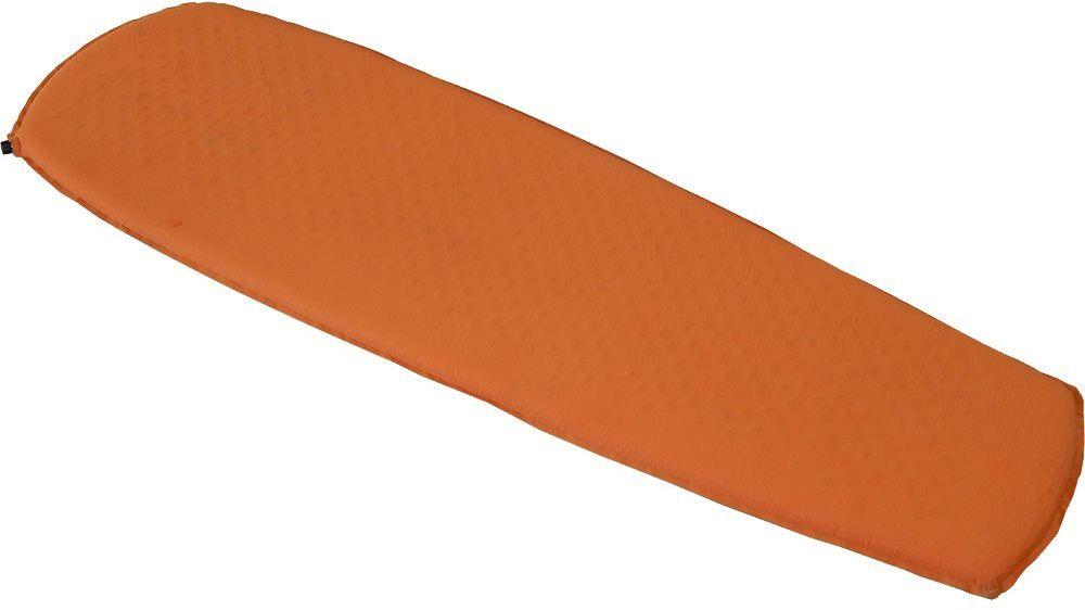 Коврик самонадувающийся Nova Tour Стоун 5, цвет: оранжевый, 183 х 51 х 5 см95302-233-00Легкий надувной коврик из прочных материалов для продолжительных походов.