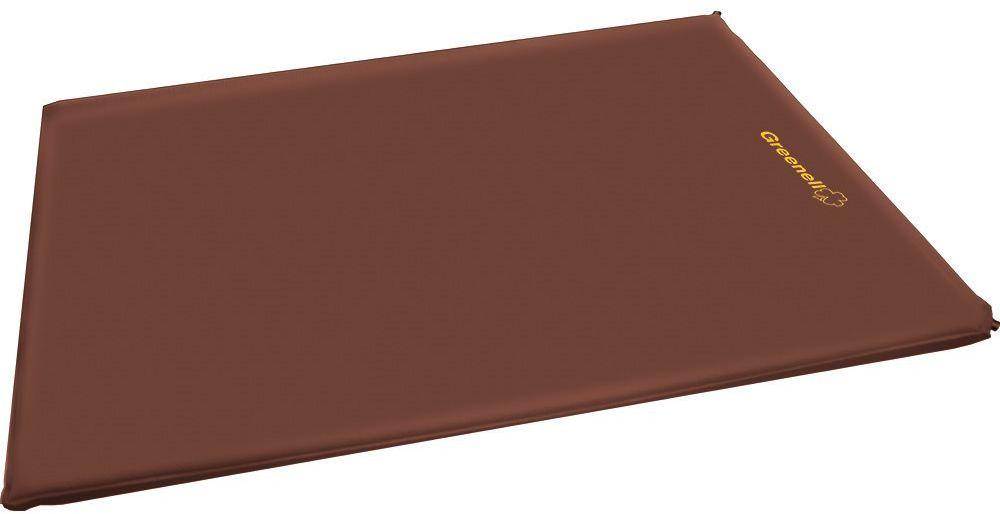 Коврик самонадувающийся Greenell ДеЛюкс, цвет: коричневый, 198 х 96 х 10 смSPIRIT ED 1050Удобный самонадувающийся коврик Greenel ДеЛюкс имеет увеличенную ширину и очень комфортную толщину 10 см. Он отлично подойдет для семейных выездов на природу, в походах и кемпинге.Эластичная ткань верха хорошо повторяет контур тела и дает ощущения уюта. Благодаря двум металлическим клапанам его можно быстро надуть и сдуть очень много раз. Удобная упаковка для перевозки. Вся серия ковриков соединяется между собой липучкой.<br