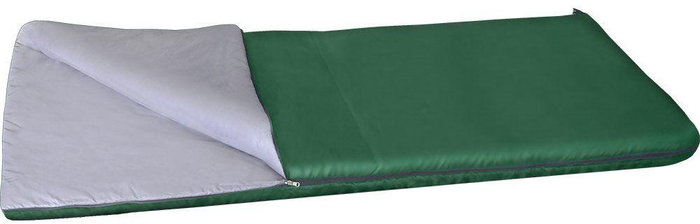 Спальный мешок одеяло Greenell Следи +15, цвет: зеленый, правая молнияa026124Благодаря простоте конструкции, спальные мешки легко превращаются в двух спальные одеяла, которые можно использовать не только на природе, но и на даче. Разьемная молния позволяет соединять два мешка вместе, увеличивая объем вдвое. Приезд гостей не застанет вас врасплох, так как у вас в запасе всегда будут для них прекрасные одеяла.