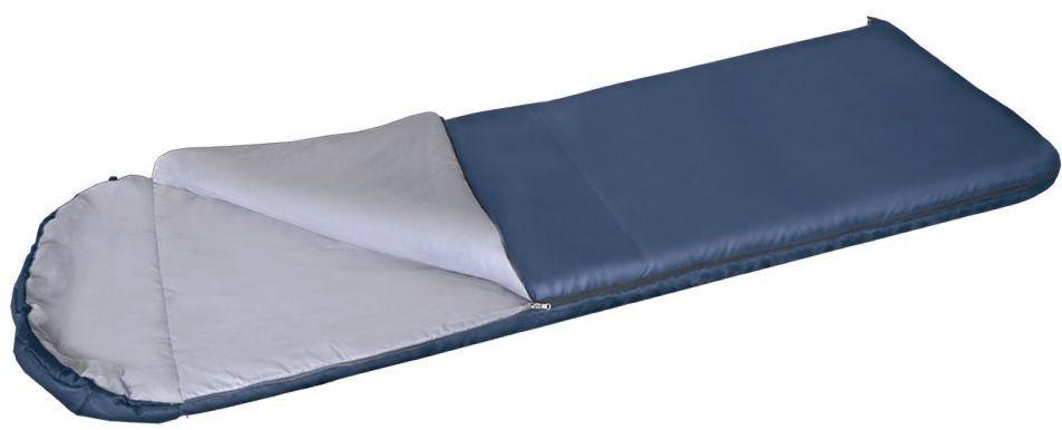 Спальный мешок одеяло Greenell Корк +4, цвет: синий, правая молния95978-405-00Благодаря простоте конструкции, спальные мешки легко превращаются в двух спальные одеяла, которые можно использовать не только на природе, но и на даче. Разьемная молния позволяет соединять два мешка вместе, увеличивая объем в двое. Приезд гостей не застанет вас врасплох, так как у вас в запасе всегда будет для них прекрасные одеяла. Для этой модели предусмотрен подголовник, который с помощью встроенного шнура легко превращаются в теплый капюшон.