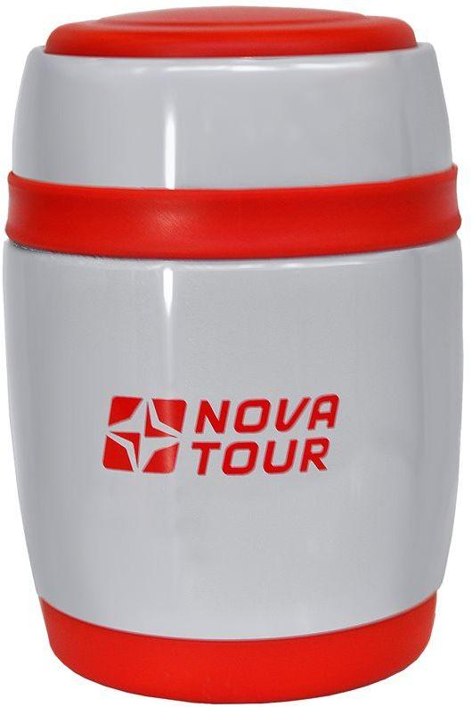 Термос Nova Tour Ланч 380, цвет: серый, 0,38 л96141-918-00Компактный термос, ёмкостью 0,38 л, выполненный из пищевой нержавеющей стали, с поворотным клапаном (Достаточно повернуть пробку на пол-оборота чтобы налить содержимое из термоса), который дает возможность при наливании не открывать термос целиком для меньшего охлаждения содержимого. Широкое горло дает возможность использовать термос для первых и вторых блюд.