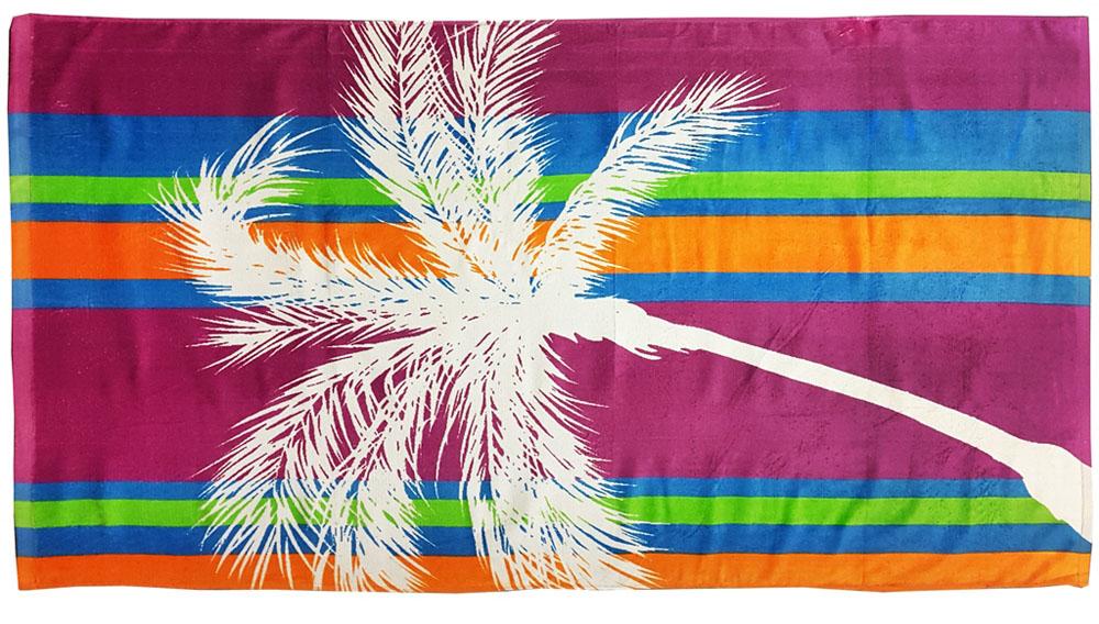Полотенце пляжное Bonita, махровое, цвет: бордовый, 75 x 150 см1010216677Размер: 75*150. Состав: 100% хлопок. Страна изготовителя: Китай