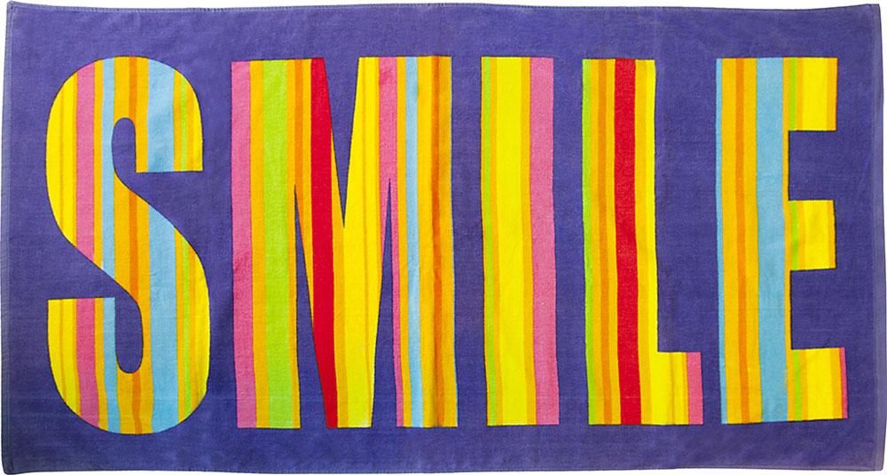 Полотенце пляжное Bonita, махровое, цвет: фиолетовый, 75 x 150 см1010216678Размер: 75*150. Состав: 100% хлопок. Страна изготовителя: Китай