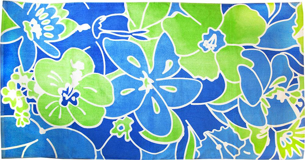 Полотенце пляжное Bonita, махровое, цвет: синий, 75 x 150 см1010216680Размер: 75*150. Состав: 100% хлопок. Страна изготовителя: Китай