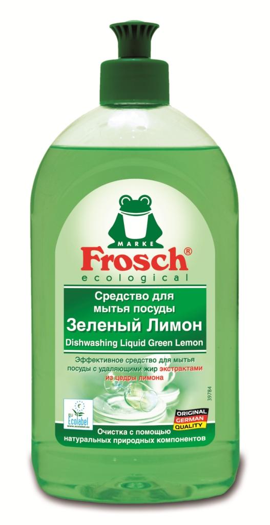 Средство для мытья посуды Frosch Лимон, 500 мл706183Средство для мытья посуды Frosch Лимон естественным способом с помощью высокоэффективных жирорастворяющих экстрактов из цедры лимона удаляет жир и грязь и оставляет при этом приятный свежий аромат лимона. Очистка с помощью натуральных природных компонентов! Торговая марка Frosch специализируется на выпуске экологически чистой бытовой химии. Для изготовления своей продукции Frosch использует натуральные природные компоненты. Ассортимент содержит все необходимое для бережного ухода за домом и вещами. Продукция торговой марки Frosch эффективно удаляет загрязнения, оберегает кожу рук и безопасна для окружающей среды. Характеристики: Объем: 500 мл. Производитель: Германия. Артикул: 46811. Уважаемые клиенты! Обращаем ваше внимание на возможные изменения в дизайне упаковки. Качественные характеристики товара остаются неизменными. Поставка осуществляется в зависимости от наличия на складе.