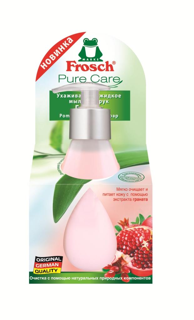 Жидкое мыло Frosch Гранат, ухаживающее, 300 мл101280Жидкое мыло Frosch Гранат благодаря формуле с увлажняющим экстрактом граната мягко очищает и защищает кожу от высыхания при каждом мытье рук. Мыло имеет нейтральный для кожи рН и обладает приятным ароматом. Торговая марка Frosch специализируется на выпуске экологически чистой бытовой химии. Для изготовления своей продукции Frosch использует натуральные природные компоненты. Ассортимент содержит все необходимое для бережного ухода за домом и вещами. Продукция торговой марки Frosch эффективно удаляет загрязнения, оберегает кожу рук и безопасна для окружающей среды. Характеристики: Объем: 300 мл. Изготовитель: Германия. Товар сертифицирован. Уважаемые клиенты! Обращаем ваше внимание на возможные изменения в дизайне упаковки. Качественные характеристики товара остаются неизменными. Поставка осуществляется в зависимости от наличия на складе.