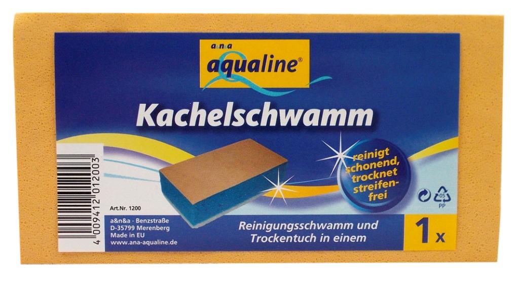 Губка Aqualine для ухода за кафелем1200Губка Aqualine прекрасно подойдет для ухода за кафелем, зеркалом и стеклом. Она очищает поверхность и полирует ее. Губка отлично впитывает влагу. Для удобства применения на губке с одной стороны нанесен текстильный абразивный слой. Характеристики: Материал основы губки: 100% полипропилен. Материал чистящей части губки: 30% полиамид, 10% полиэстер, 60% связующие компоненты. Размер: 14,5 см х 4 см х 7,5 см. Производитель: Германия. Артикул: 2327. Уважаемые клиенты! Обращаем ваше внимание на возможные изменения в дизайне упаковки. Качественные характеристики товара остаются неизменными. Поставка осуществляется в зависимости от наличия на складе.