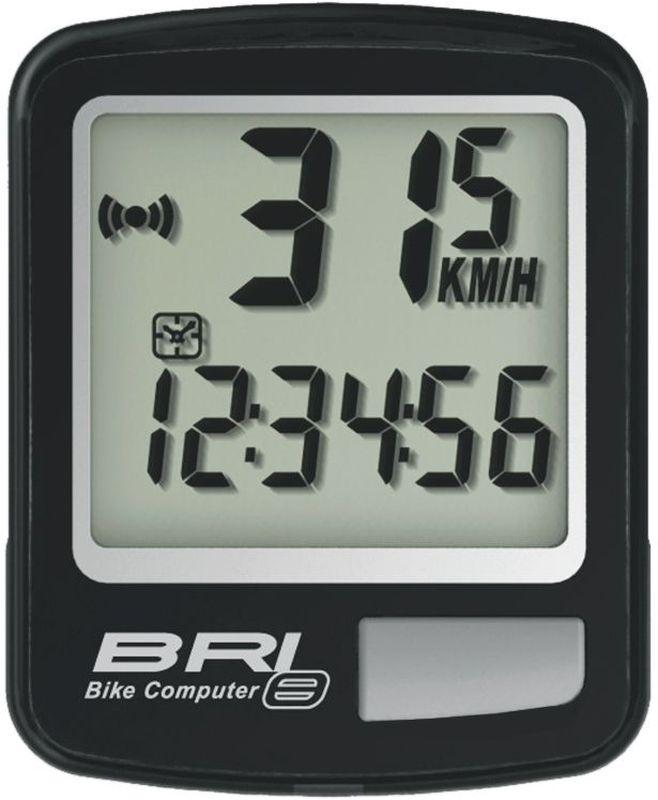 Велокомпьютер Echowell BRI-8, 8 функций, цвет: черныйBRI-8Проводной велокомпьютер Echowell BRI-8 с восемью функциями в стильном корпусе предназначен для использования при занятиях велоспортом, велотуризмом и просто катании на велосипеде. Это удобный и простой в использовании электронный прибор, предоставляющий велосипедисту всю необходимую информацию о поездке. Имеет отличную водо и пылезащиту. Велокомпьютер состоит из двух частей соединенных проводом - дисплея, внешне похожего на электронные часы и датчика скорости. Дисплей крепится на руле с возможностью мгновенно отсоединить его, когда нет желания оставлять на велосипеде без присмотра или под дождем. Магнитный датчик скорости (геркон) крепится рядом с колесом. Велокомпьютер определяет скорость движения с точностью до десятых долей, дистанцию - с точностью до 10 метров. На дисплее функции поочередно сменяют друг друга. Все операции и настройки выполняются одной кнопкой.Функции: - Скорость текущая - Скорость средняя - Скорость максимальная - Дистанция поездки...