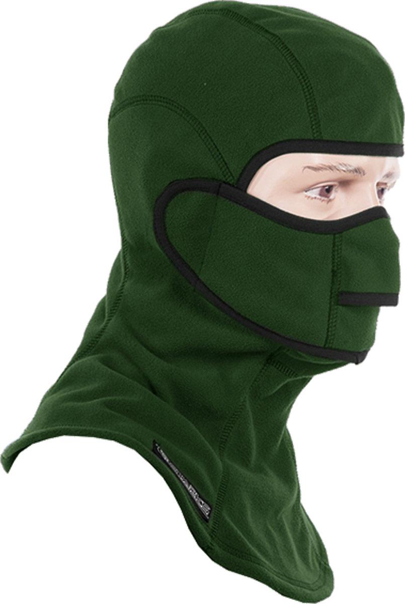 Подшлемник с защитой шеи Starks Fleece Collar Open, цвет: зеленый. Размер L/XLЛЦ0032_Зеленый_LПодшлемник для экстремального холода и открывающейся лицевой частью.Выполнен из Европейского Сертифицированного материала-Fleece Windblock. Полная защита лица и шеи от проницания влаги, холода, пыли. Снаружи и внутри-флисовыйворс-который обеспечивает терморегуляцию, сохранение тепла отведение влаги от лица к мембране и последующее выведение наружу. Защитная дышащая мембрана работает в обе стороны -изнутри сохраняет тепло, выводит влагу. Снаружи полная защита от неблагоприятных внешних факторов. Модель предназначена для любых отрицательных температур и любой влажности. Съемная лицевая часть позволяет легко открывать лицо-когда это необходимо не снимая при этой подшлемник. Гипоалергенный, Терморегуляция, Антибактериальный, Анатомический, Состав: 100% полиэстер.