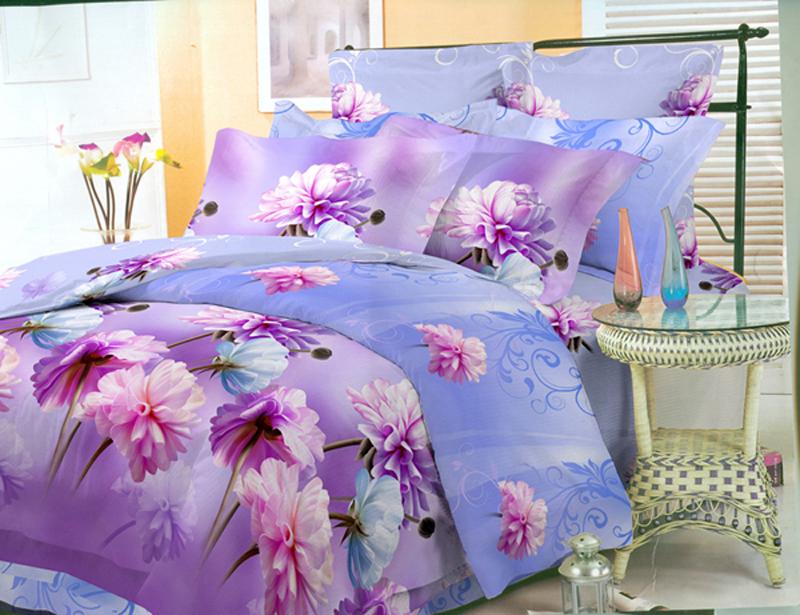 Комплект белья ЭГО Астры, 1,5-спальный, наволочки 70x70Э-2043-01Комплект белья ЭГО выполнен из полисатина (50% хлопка, 50% полиэстера). Комплект состоит из пододеяльника, простыни и двух наволочек. Постельное белье имеет изысканный внешний вид и яркую цветовую гамму. Гладкая структура делает ткань приятной на ощупь, мягкой и нежной, при этом она прочная и хорошо сохраняет форму. Ткань легко гладится, не линяет и не садится. Приобретая комплект постельного белья ЭГО, вы можете быть уверенны в том, что покупка доставит вам и вашим близким удовольствие и подарит максимальный комфорт.