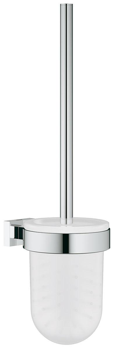 Туалетный ершик Grohe Essentials Cube в комплекте. 4051300140513001настенный монтаж GROHE StarLight хромированная поверхность