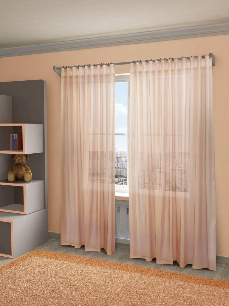 Тюль Sanpa Home Collection Пегги, на ленте, цвет: розовый, высота 280 смHP10058/30/1E Пегги розовый, , 300*280 смТюль Пегги нежного цвета изготовлена из микровуали. Микровуаль соединила в себе положительные качества вуали - мягкость, изысканность - и органзы - светопроницаемость, упругость. При этом микровуаль является новым, заслуживающим отдельного внимания видом ткани. Обладая удивительной тонкостью, прозрачностью, полуорганза невероятно пластична и прочна, к тому же, она не поддаётся деформации, усадке и устойчива к ультрафиолетовым лучам. Воздушная ткань привлечет к себе внимание и идеально оформит интерьер любого помещения. Тюль сделает ваш интерьер более нежным, воздушным и невесомым. Можно драпировать окно только тюлью или только портьерами, но вместе они создают идеальную композицию. Мы рекомендуем под однотонные портьеры нейтральных тонов подбирать сложносочиненную тюль, с изысканной вышивкой и орнаментом, а под портьеры с рисунком или ярких тонов - выбирать тюль с минималистичным рисунком или вообще без него. Крепление к карнизу осуществляется при помощи вшитой...