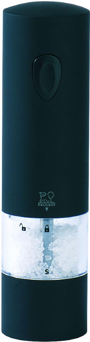 Мельница для соли Peugeot Onyx, электрическая, высота 20 см24598Мельницы для специй PEUGEOT имеют безупречную репутацию благодаря легендарному внутреннему механизму, который совершенствовался в течение 160 лет и продолжает улучшаться благодаря высокотехнологичным возможностям современного производства.