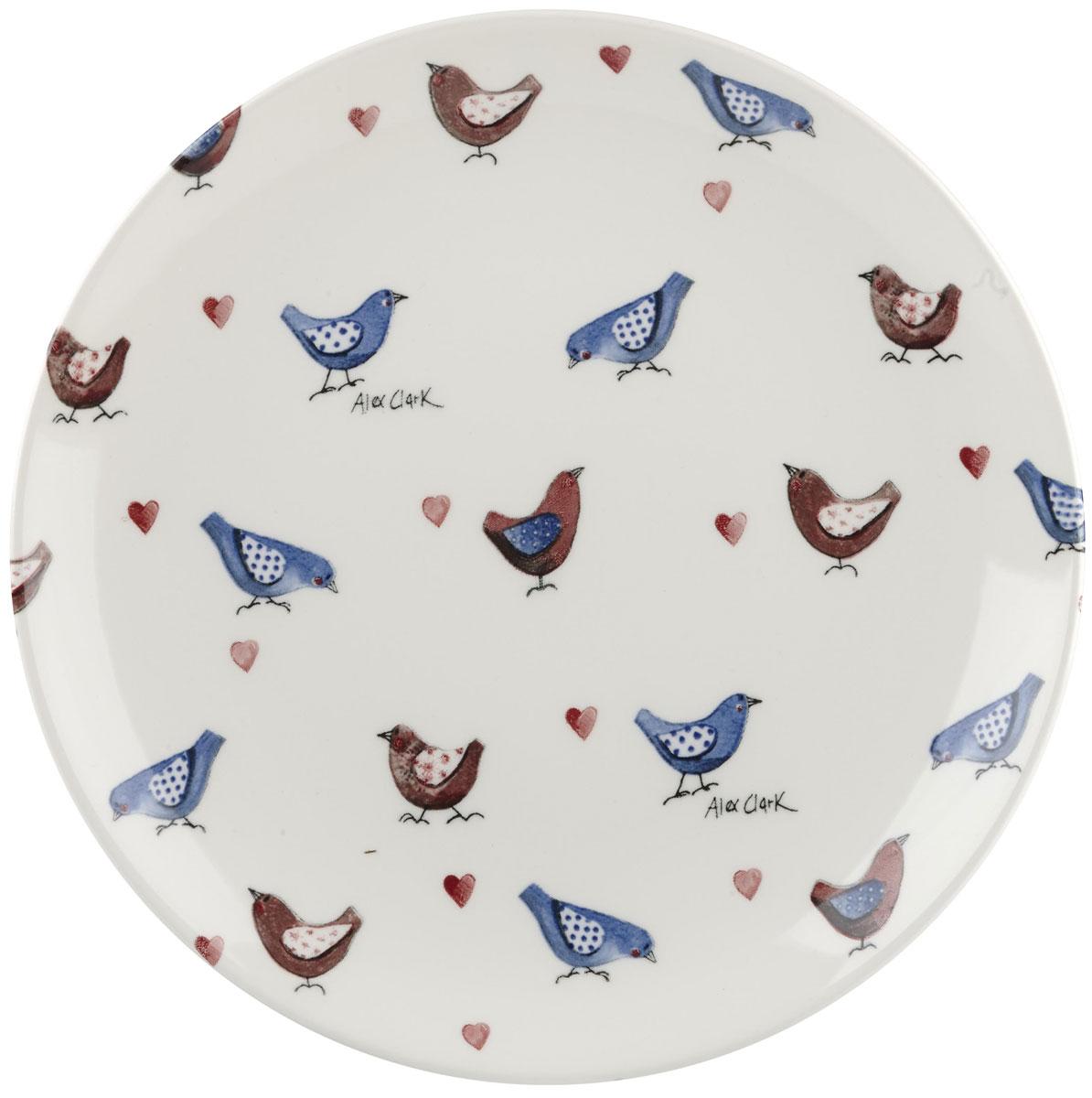 Тарелка Churchill, диаметр 20 см. ACLB00021ACLB00021Коллекция Птички - уникальное сочетание живой природы и прекрасные воспоминания из детства. Легкий и простой дизайн с пастельными красками идеально подойдет для любой кухни.