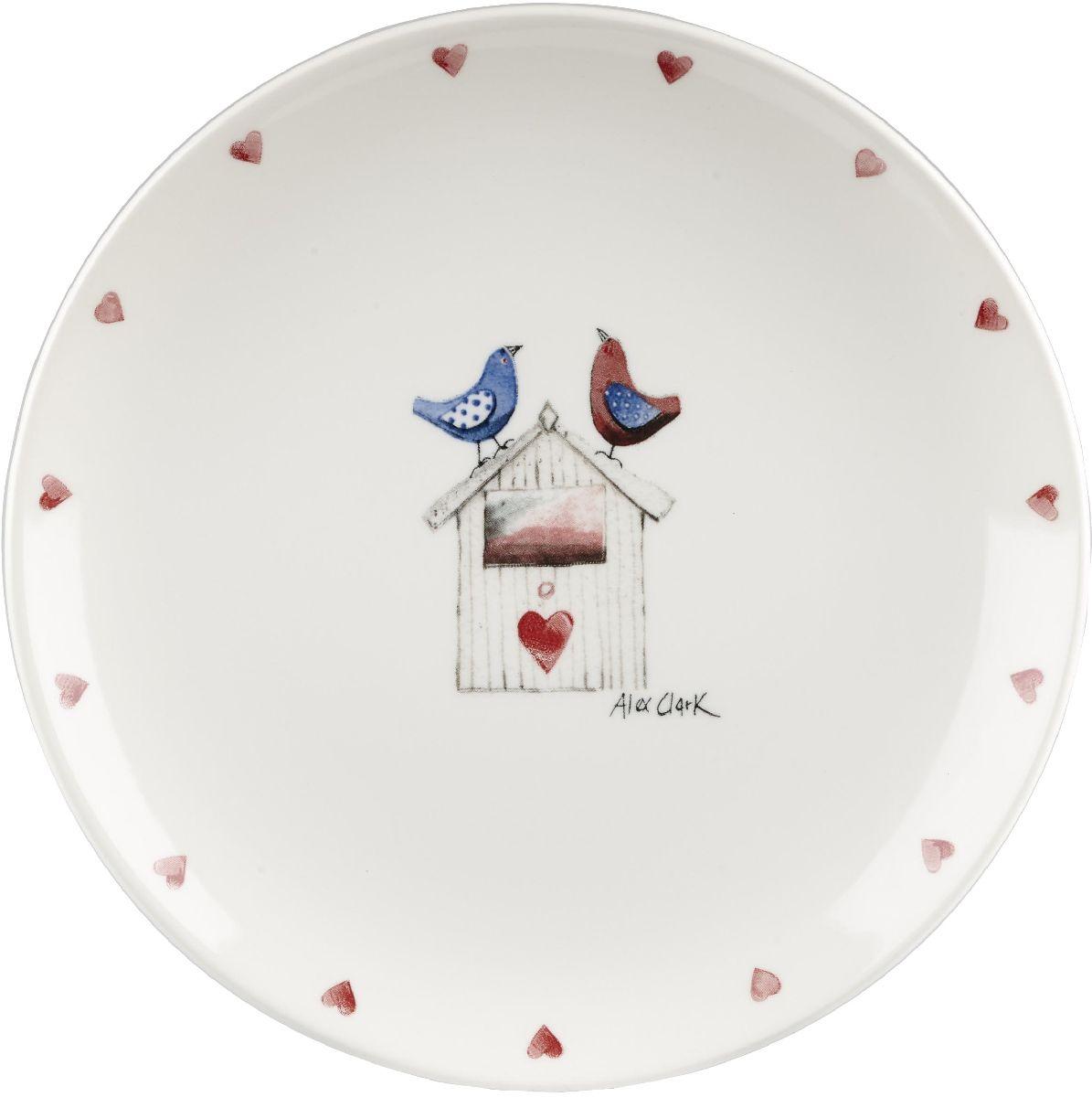 Тарелка Churchill, диаметр 20 см. ACLB00101ACLB00101Коллекция Птички - уникальное сочетание живой природы и прекрасные воспоминания из детства. Легкий и простой дизайн с пастельными красками идеально подойдет для любой кухни.