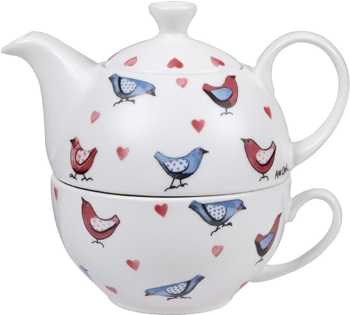 Набор чайный Churchill, 2 предмета. ACLB00121ACLB00121Коллекция Птички - уникальное сочетание живой природы и прекрасные воспоминания из детства. Легкий и простой дизайн с пастельными красками идеально подойдет для любой кухни.