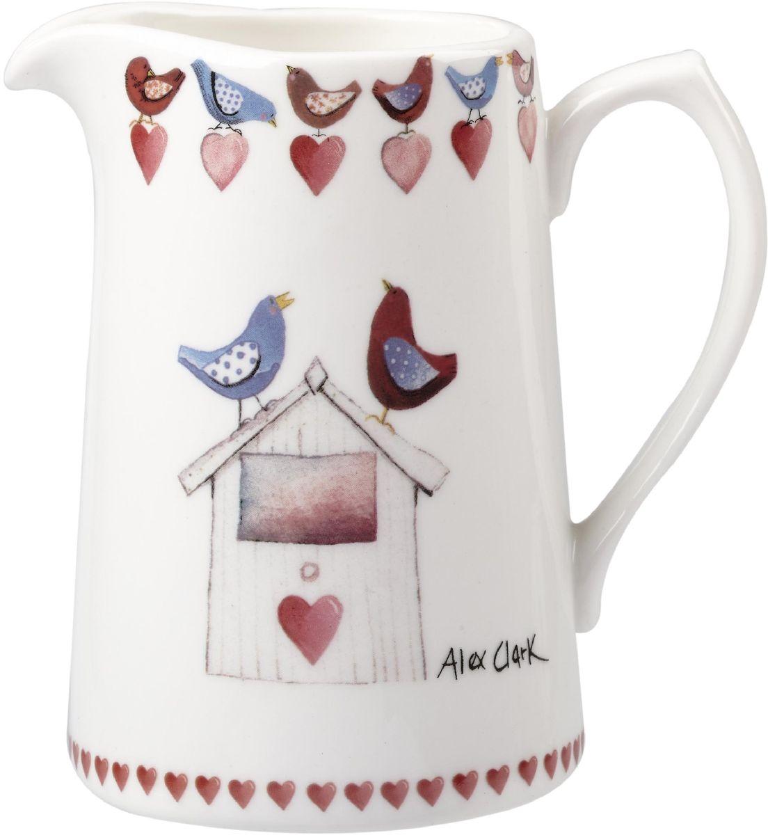 Кувшин Churchill, 250 млACMY00111Коллекция Птички - уникальное сочетание живой природы и прекрасные воспоминания из детства. Легкий и простой дизайн с пастельными красками идеально подойдет для любой кухни.