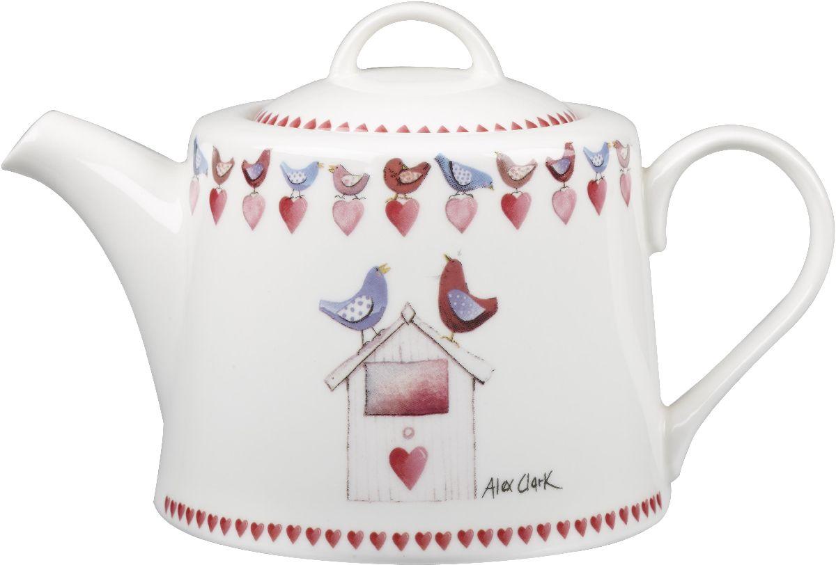 Чайник заварочный Churchill, 830 млACMY00121Коллекция Птички - уникальное сочетание живой природы и прекрасные воспоминания из детства. Легкий и простой дизайн с пастельными красками идеально подойдет для любой кухни.