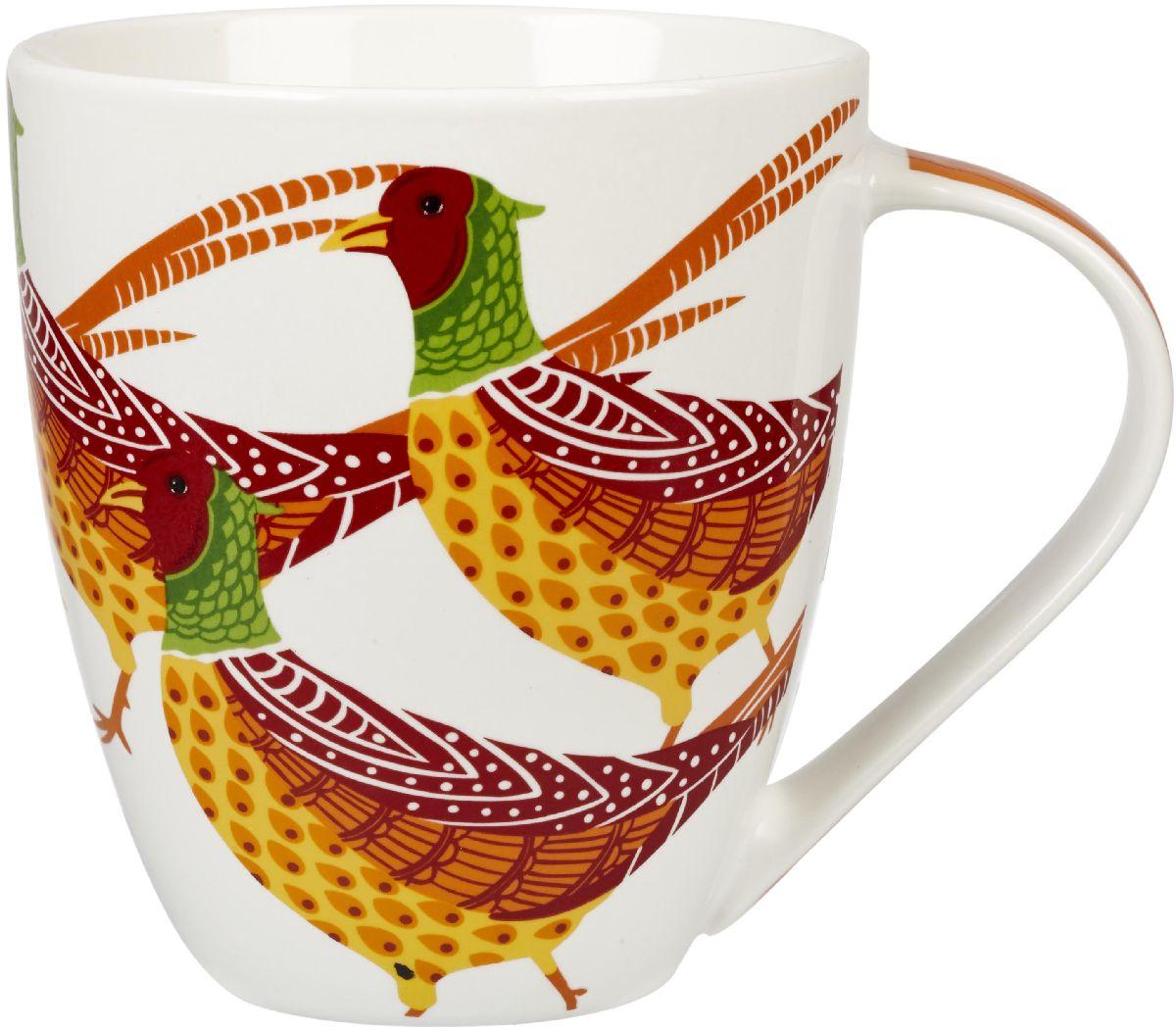 Кружка Churchill Фазаны, 500 млPARB00081Коллекция Кутюр использует эклектичное сочетание ярких цветов, чтобы создать самые модные узоры на посуде.