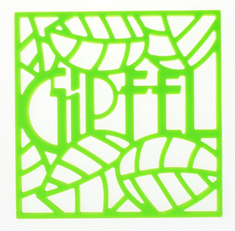 Подставка под горячее Gipfel Glum, цвет: зеленый, 17 х 17 х 0,8 см0215Посуда Gipfel изготовлена только из качественных, экологически чистых материалов. Также уделяется особое внимание дизайну продукции, способному удовлетворять вкусы даже самых взыскательных покупателей. Сталь 8/10, из которой изготавливается посуда и аксессуары Gipfel, является уникальной. Она отличается высокими эксплуатационными характеристиками и крайне устойчива к физическим воздействиям. Сложно найти более подходящий для создания качественной кухонной посуды материал. Отличительной чертой металлической посуды, выполненной из подобной стали, является характерный сероватый оттенок поверхности и особый блеск. Это позволяет приготовить более здоровую пищу.