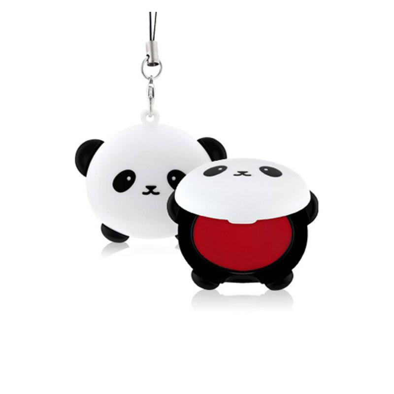 TonyMoly Бальзам для губ Pandas Dream Pocket Lip Balm, 3,8 гр5010777142037Невероятно милый аксессуар, который при помощи специальной петельки можно прикрепить к сумочке или телефону, очень похожий на брелок – оттеночный бальзам для губ.Средство позволяет в любое время увлажнить кожу губ, устранить сухость и шелушения, а также подарить губам красивый и сочный розовый оттенок.В составе бальзама сок бамбука, который увлажняет и освежает кожу; экстракт граната – мощный омолаживающий компонент, питает, смягчает и разглаживает кожу, делает ее более упругой, а также деликатно отшелушивает омертвевшие клетки. Срок годности: 30 месяцев.