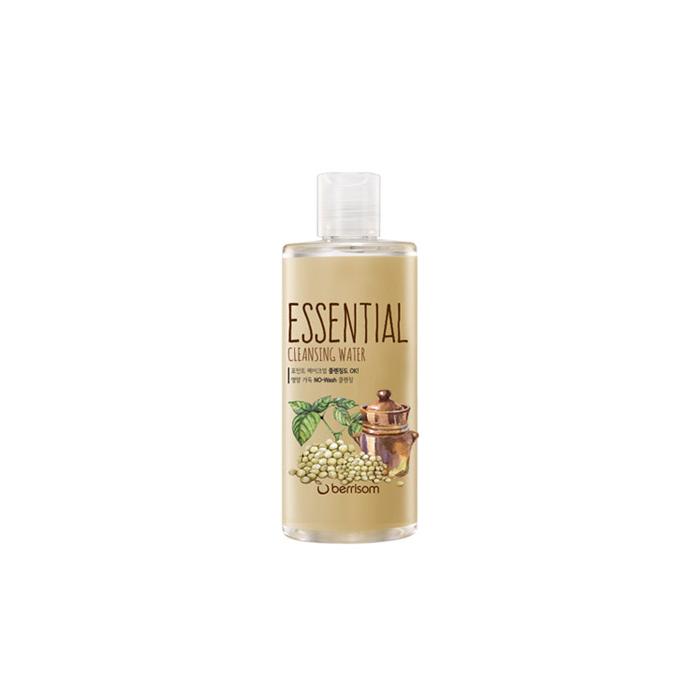 Berrisom Очищающая вода Berrisom Essential Cleansing Water - Seed, 300 млFS-00897Вода эффективно удаляет макияж и увлажняет кожу. Бережно и деликатно очищает кожу от загрязнений, удаляет омертвевшие клетки, насыщает питательными веществами. Имеет успокаивающий эффект, придает ощущение длительного комфорта и свежести. Содержит экстракт семечек подсолнуха, винограда, моркови, ослинника. Не содержит парабенов, животных экстрактов и т.д.