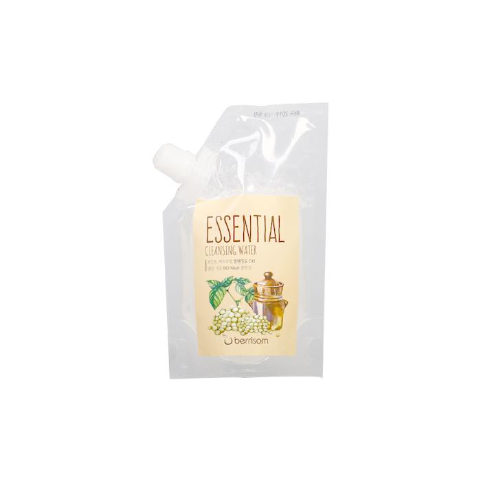 Berrisom Очищающая вода сменный блок Berrisom Essential Cleansing Water - Seed, 150 млFS-00103Вода эффективно удаляет макияж и увлажняет кожу. Бережно и деликатно очищает кожу от загрязнений, удаляет омертвевшие клетки, насыщает питательными веществами. Имеет успокаивающий эффект, придает ощущение длительного комфорта и свежести. Содержит экстракт семечек подсолнуха, винограда, моркови, ослинника. Не содержит парабенов, животных экстрактов и т.д.