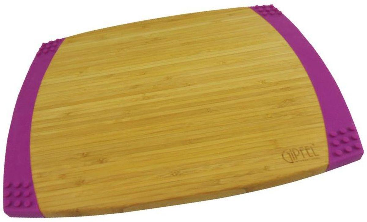 Доска разделочная Gipfel Bamboo, 35,6 х 27,9 х 2,1 см3117Посуда Gipfel изготовлена только из качественных, экологически чистых материалов. Также уделяется особое внимание дизайну продукции, способному удовлетворять вкусы даже самых взыскательных покупателей. Сталь 8/10, из которой изготавливается посуда и аксессуары Gipfel, является уникальной. Она отличается высокими эксплуатационными характеристиками и крайне устойчива к физическим воздействиям. Сложно найти более подходящий для создания качественной кухонной посуды материал. Отличительной чертой металлической посуды, выполненной из подобной стали, является характерный сероватый оттенок поверхности и особый блеск. Это позволяет приготовить более здоровую пищу.