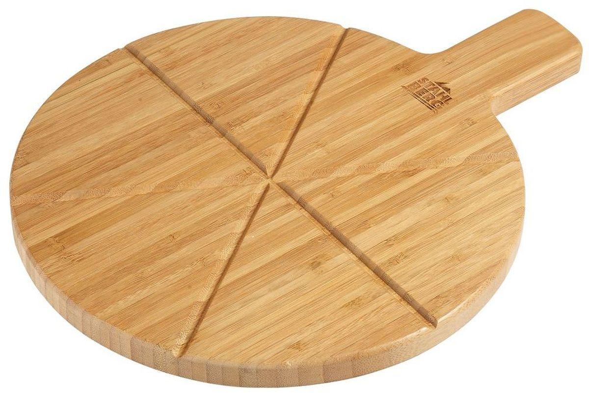 Доска для пиццы Stahlberg, 36 x 27,5 x 2 см94672Посуда STAHLBERG изготовлена только из качественных, экологически чистых материалов. Также уделяется особое внимание дизайну продукции, способному удовлетворять вкусы даже самых взыскательных покупателей. Сталь 8/10, из которой изготавливается посуда и аксессуары STAHLBERG, является уникальной. Она отличается высокими эксплуатационными характеристиками и крайне устойчива к физическим воздействиям. Сложно найти более подходящий для создания качественной кухонной посуды материал. Отличительной чертой металлической посуды, выполненной из подобной стали, является характерный сероватый оттенок поверхности и особый блеск. Это позволяет приготовить более здоровую пищу.