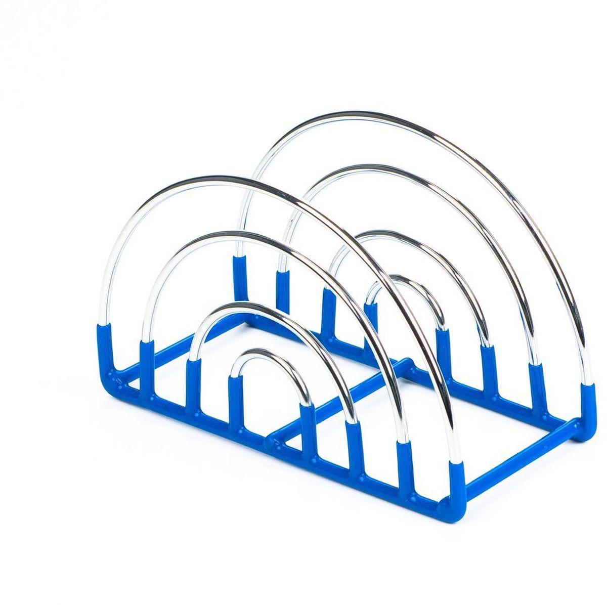 Салфетница Stahlberg Uranus, цвет: голубой, 14,5 х 6,5 х 11 смVT-1520(SR)Посуда STAHLBERG изготовлена только из качественных, экологически чистых материалов. Также уделяется особое внимание дизайну продукции, способному удовлетворять вкусы даже самых взыскательных покупателей. Сталь 8/10, из которой изготавливается посуда и аксессуары STAHLBERG, является уникальной. Она отличается высокими эксплуатационными характеристиками и крайне устойчива к физическим воздействиям. Сложно найти более подходящий для создания качественной кухонной посуды материал. Отличительной чертой металлической посуды, выполненной из подобной стали, является характерный сероватый оттенок поверхности и особый блеск. Это позволяет приготовить более здоровую пищу.