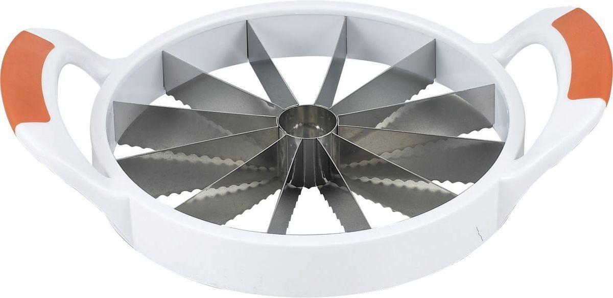 Фрукторезка Stahlberg, длина 30 см5790-SПосуда STAHLBERG изготовлена только из качественных, экологически чистых материалов. Также уделяется особое внимание дизайну продукции, способному удовлетворять вкусы даже самых взыскательных покупателей. Сталь 8/10, из которой изготавливается посуда и аксессуары STAHLBERG, является уникальной. Она отличается высокими эксплуатационными характеристиками и крайне устойчива к физическим воздействиям. Сложно найти более подходящий для создания качественной кухонной посуды материал. Отличительной чертой металлической посуды, выполненной из подобной стали, является характерный сероватый оттенок поверхности и особый блеск. Это позволяет приготовить более здоровую пищу.