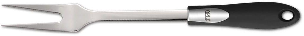 Вилка для мяса Gipfel Orbit6588Посуда Gipfel изготовлена только из качественных, экологически чистых материалов. Также уделяется особое внимание дизайну продукции, способному удовлетворять вкусы даже самых взыскательных покупателей. Сталь 8/10, из которой изготавливается посуда и аксессуары Gipfel, является уникальной. Она отличается высокими эксплуатационными характеристиками и крайне устойчива к физическим воздействиям. Сложно найти более подходящий для создания качественной кухонной посуды материал. Отличительной чертой металлической посуды, выполненной из подобной стали, является характерный сероватый оттенок поверхности и особый блеск. Это позволяет приготовить более здоровую пищу.