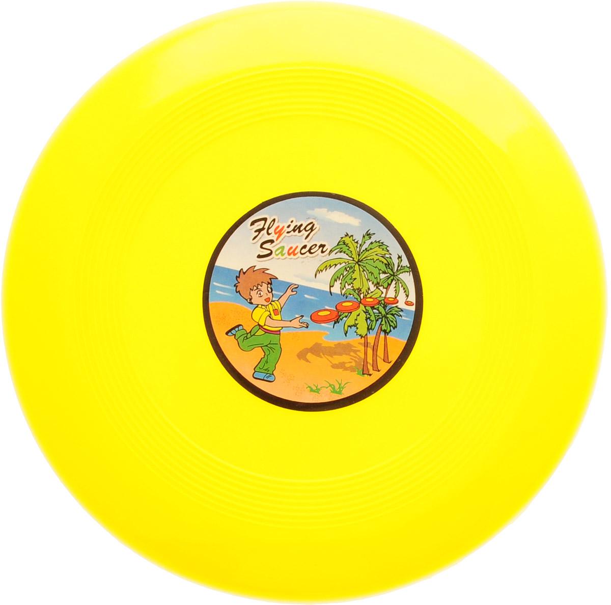 Veld-Co Летающая тарелка цвет желтый диаметр 14 см