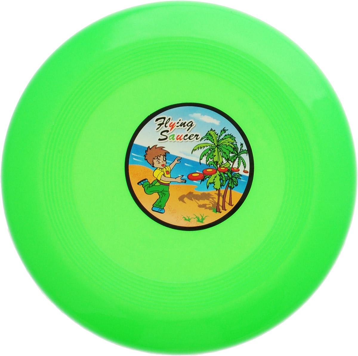 Veld-Co Летающая тарелка цвет зеленый диаметр 14 см