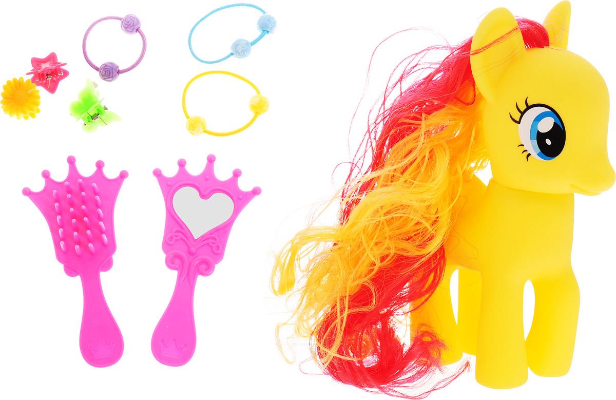 Карапуз Игровой набор Пони цвет желтый