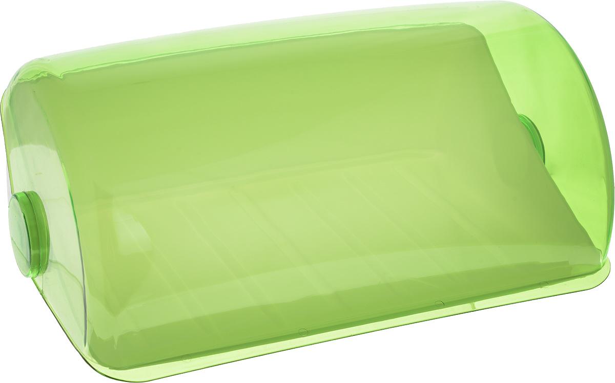 Хлебница Giaretti, цвет: салатовый, 39,5 х 25 х 17,7 смVT-1520(SR)Хлебница Giaretti, изготовленная из высококачественного пластика, прекрасно сохранит хлеб свежим, а также украсит вашу кухню. Хлебница не поглощает запахов и не окрашивается. Крышка плотно и легко закрывается. Стильная хлебница прекрасно впишется в интерьер кухни,универсальная форма хлебницы удобна и практична в использовании.