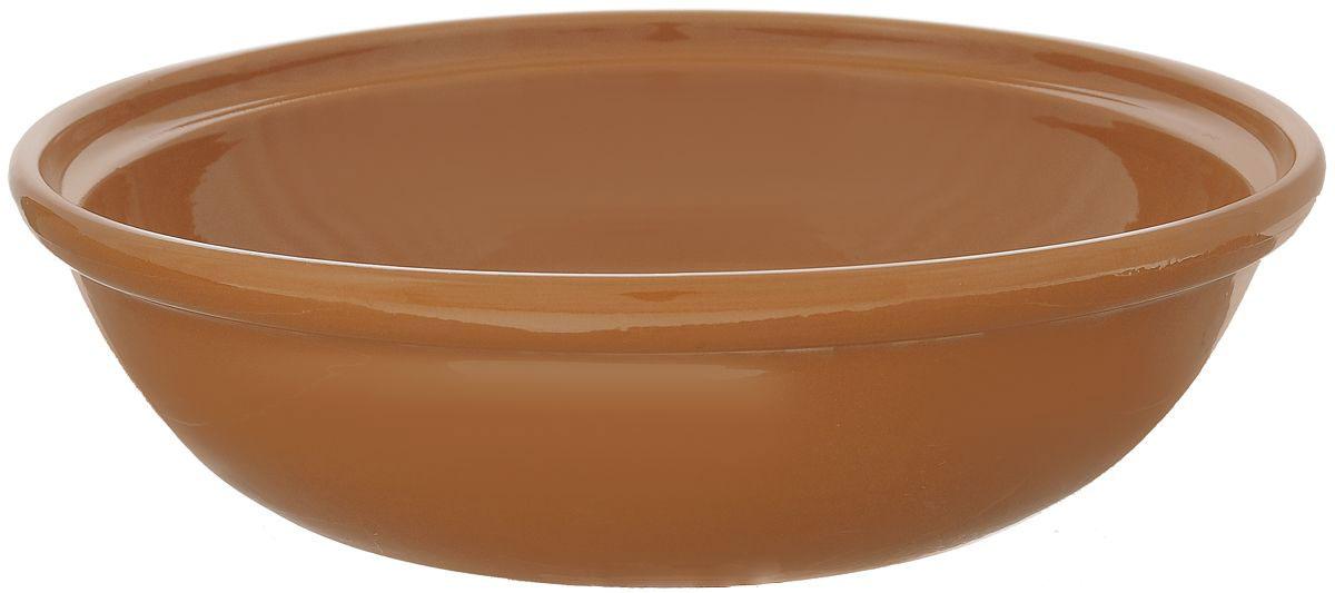 Салатник Борисовская керамика Модерн, цвет: коричневый, 2,5 лРАД00001012Салатник Борисовская керамика Модерн выполнен из высококачественной глазурованной керамики. Этот большой и вместительный салатник придется по вкусу любителям здоровой и полезной пищи. Благодаря современной удобной форме, изделие многофункционально и может использоваться хозяйками на кухне как в виде салатника, так и для запекания продуктов, с последующим хранением в нем приготовленной пищи. Посуда термостойкая. Можно использовать в духовке и микроволновой печи. Диаметр (по верхнему краю): 28,5 см. Диаметр (по внутреннему краю): 24,5 см. Диаметр дна: 19,5 см. Высота стенки: 8,5 см.