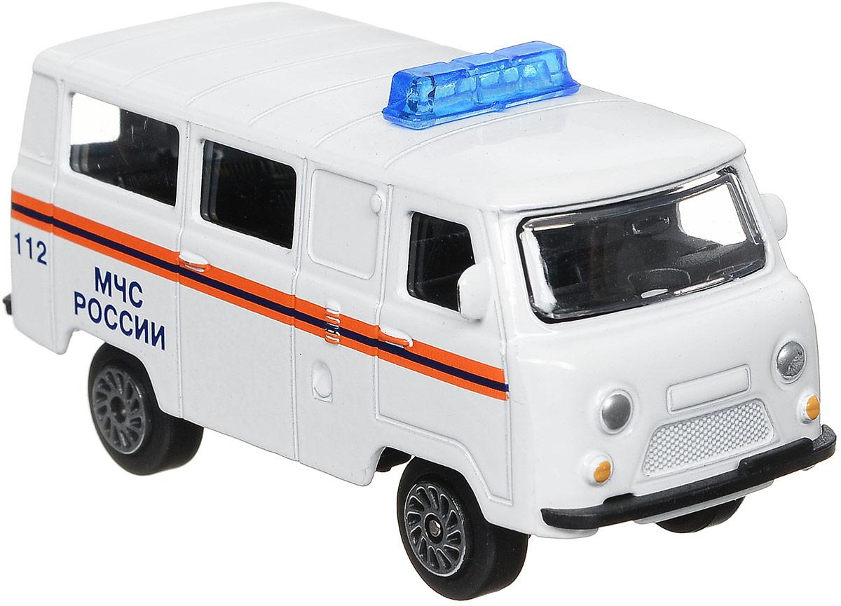 ТехноПарк Автомобиль УАЗ 39625 МЧС России цвет белый