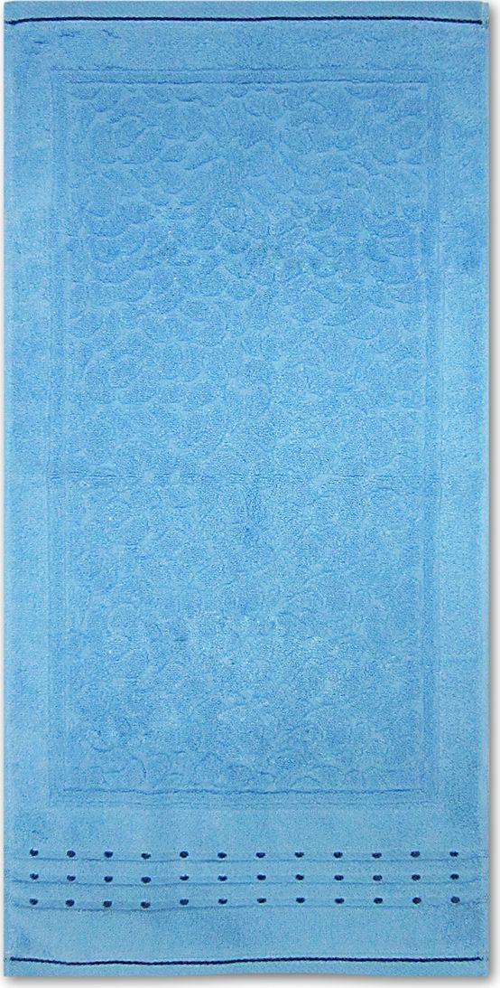 Полотенце махровое Bravo Морион, цвет: синий, 50 х 90 смZ-0307Полотенце Морион выполнено из натуральной махровой ткани (100% хлопок). Изделие отлично впитывает влагу, быстро сохнет, сохраняет яркость цвета и не теряет форму даже после многократных стирок. Полотенце очень практично и неприхотливо в уходе. Оно создаст прекрасное настроение и украсит интерьер в ванной комнате.