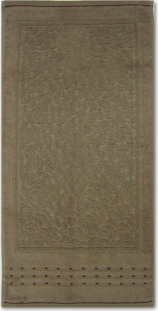 Полотенце махровое Bravo Морион, цвет: коричневый, 50 х 90 см10503Полотенце Морион выполнено из натуральной махровой ткани (100% хлопок). Изделие отлично впитывает влагу, быстро сохнет, сохраняет яркость цвета и не теряет форму даже после многократных стирок. Полотенце очень практично и неприхотливо в уходе. Оно создаст прекрасное настроение и украсит интерьер в ванной комнате.
