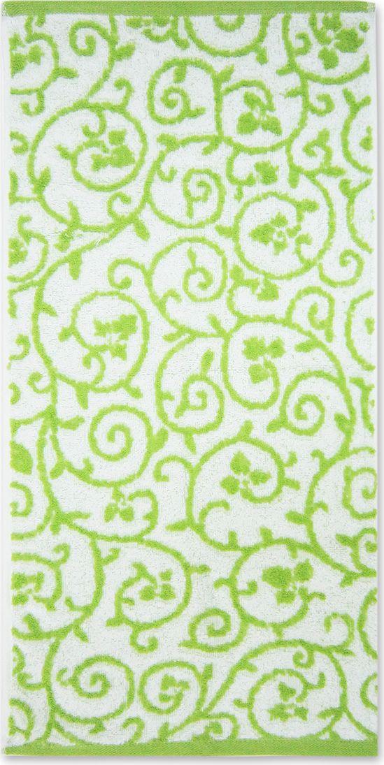 Полотенце махровое НВ Верона, цвет: зеленый, 45 х 90 см. м0745_0385573