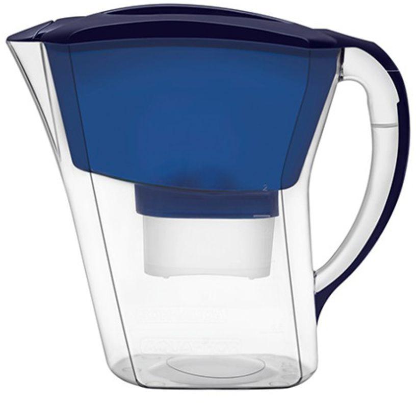 Фильтр-кувшин для воды Аквафор Агат, цвет: синий, 3,8 лАГАТ (син.)Практичный и удобный фильтр-кувшин, Аквафор Агат очищает питьевую воду от активного хлора, тяжелых металлов и других опасных примесей, встречающихся в водопроводной воде Практичный фильтр-кувшин Аквафор Агат фильтрует 1,7 литра воды за раз благодаря большому объему воронки и накапливает до 3,8 литра очищенной воды. Вам не придется наполнять кувшин несколько раз и долго ждать, чтобы приготовить ужин или сделать чай для гостей. Фильтр-кувшин очищает воду от активного хлора, тяжелых металлов и других опасных примесей, часто встречающихся в водопроводной воде. Корпус фильтра и фильтрующий модуль изготовлены из высококачественного пластика немецкого производства и допущены к контакту с пищевыми продуктами. В комплекте с кувшином вы получите универсальный сменный модуль B100-25, которого хватит на месяц использования в семье из 3-х человек. Если вас меньше, модуля хватит на дольше. В мае 2015 года Stiftung Warentest – институт тестирования потребительских товаров в Германии,...