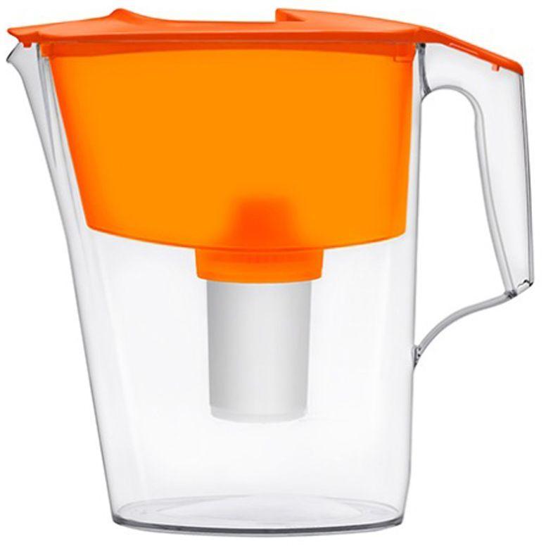Фильтр-кувшин для воды Аквафор Стандарт, цвет: оранжевый, 2,5 лСтандарт (оран.)Аквафор Стандарт – миниатюрный, но функциональный фильтр-кувшин Идеально подойдет для малогабаритной кухни. Фильтрующий модуль эффективно и необратимо удаляет органические соединения, хлор и другие загрязнители воды. Помещается на дверцу холодильника. Как и любой фильтр-кувшин, Аквафор Стандарт не требует подключения к водопроводу и может использоваться в любом, удобном для Вас месте. Все части фильтра изготовлены из высококачественного пищевого пластика немецкого производства. Аквафор Стандарт комплектуется сменным модулем В15 (В100-15), но к нему подходят и другие сменные модули Аквафор: – В16 (В100-16) – сменный модуль для жесткой воды. В мае 2015 года Stiftung Warentest – институт тестирования потребительских товаров в Германии, учрежденный Министерством экономики Германии, – сравнил качество водоочистителей, реализуемых на рынке Германии.По результатам тестирования Аквафор занял 1 место. Полный отчет о результатах испытаний и сравнительного анализа...
