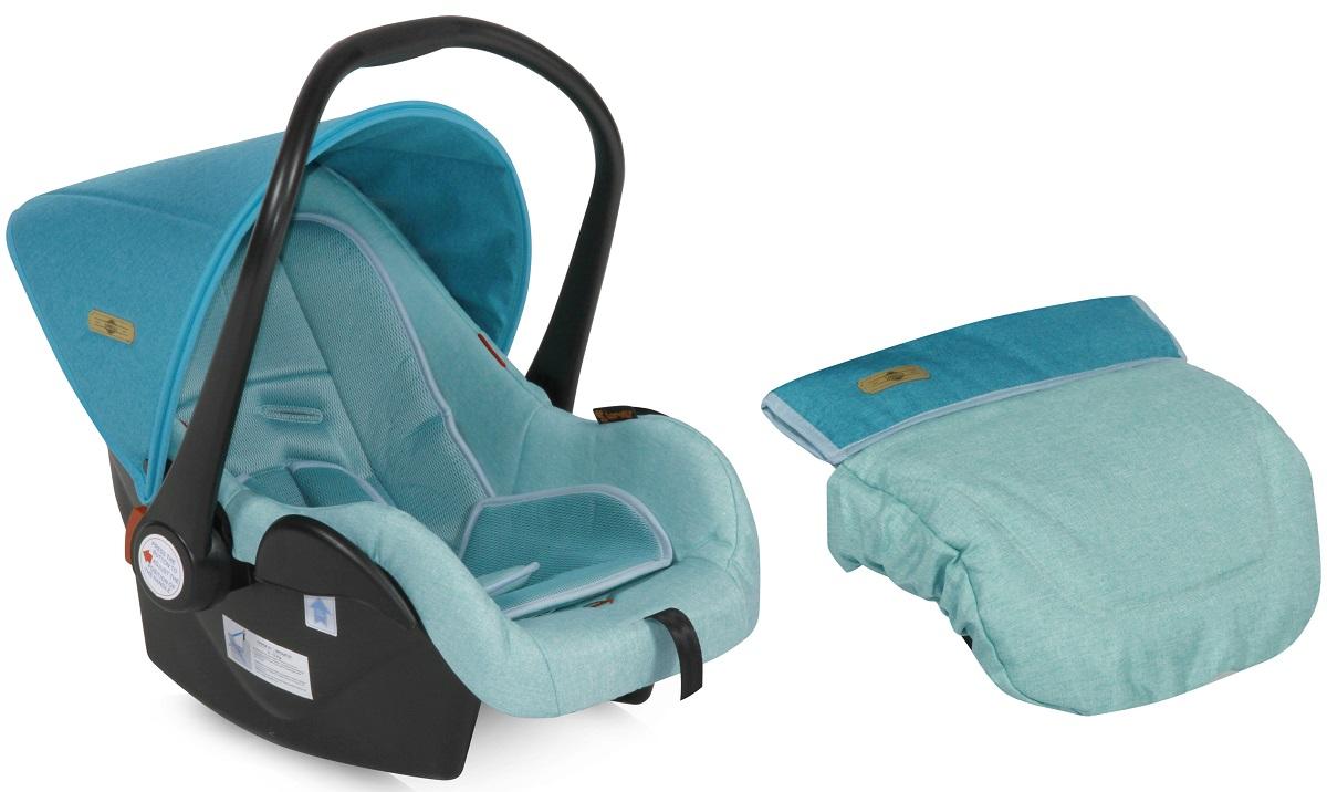 Lorelli Автокресло-переноска Lifesaver цвет светло-бирюзовый от 0 до 13 кг3800151924128Автокресло-переноска Lorelli Lafesaver относится к группе 0+ и подходит для детей весом до 13 кг. Автокресло обеспечит безопасность и комфорт малыша во время поездок на автомобиле. Удобная ручка для переноски позволит использовать автокресло в качестве переносной люльки. Положение ручки регулируется. Автокресло оснащено солнцезащитным козырьком и съемным чехлом, благодаря чему его удобно мыть. Накладки на внутренние ремни обеспечат удобство для малыша. Внутренние 5-точечные ремни помогут бережно зафиксировать ребенка, анатомический вкладыш позволит ему принять комфортное положение, а активная защита головы сделает поездки еще более безопасными. Кресло защищено от боковых ударов. Ширина кресла и высота подголовника не регулируется. Для детей весом до 9 кг автокресло устанавливается спиной по ходу движения. В комплект также входит съемный чехол, прикрывающий ножки ребенка.