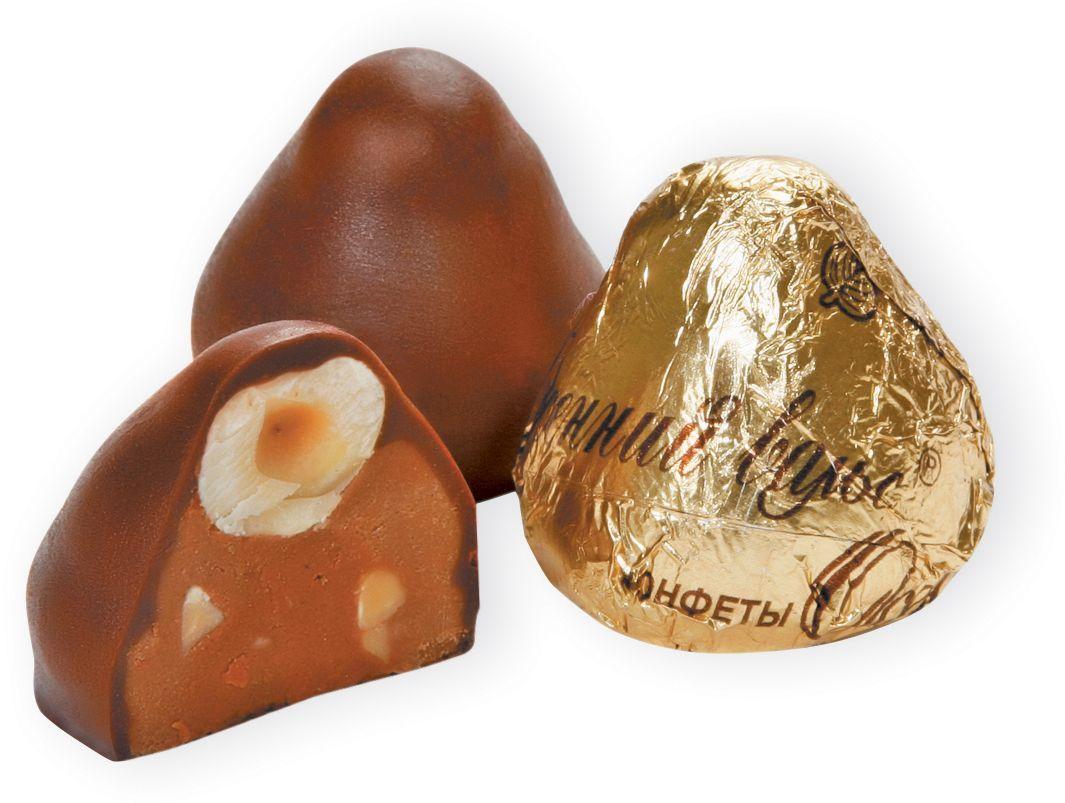 Рот-Фронт Осенний вальс куполообразные конфеты из пралине с добавлением орехов в шоколадной глазури, 250 гРФ03933Знаменитые московские конфеты, напоминают Вкус Детства!