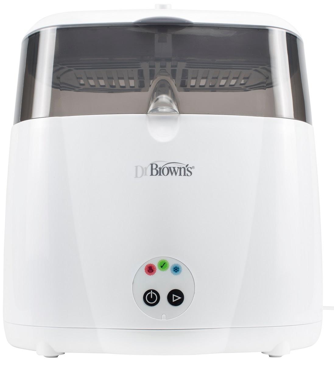 Dr.Brown's Электрический паровой стерилизатор цвет белый серый AC043