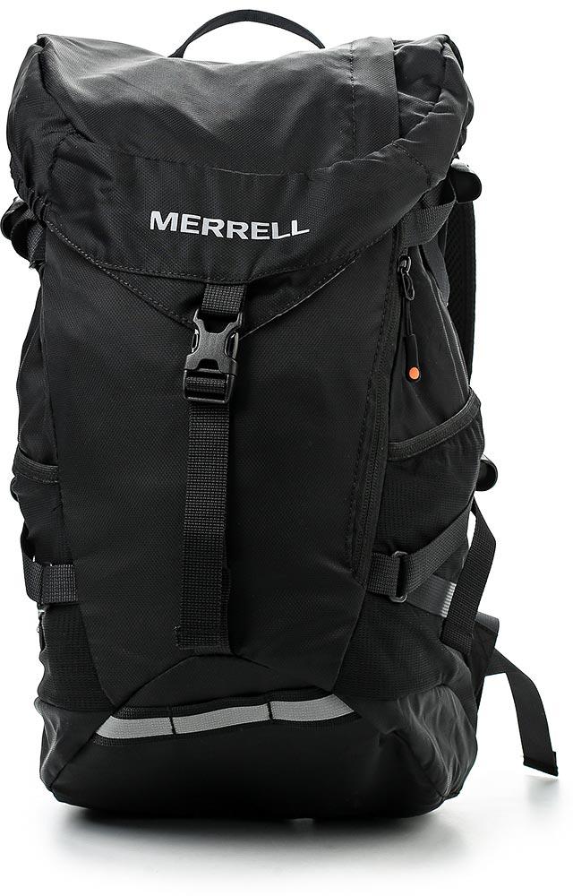 Рюкзак для походов Merrell Razer 2.0, цвет: черный. JBS24055JBS24055Вместительное основное отделение с шнуровкой и клапаном на удобной застежке. У модели карман на молнии сверху, карман с молнией спереди, боковые ремни, боковые карманы из сетки, крепление для светового маячка, камера для отделения с жидкостью, трубка для отделения с жидкостью и выводом на спинке. Дополнительная фиксация нагрудным ремнем на удобной застежке.