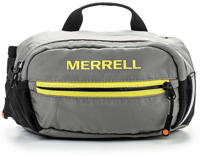 Рюкзак для походов Merrell Hudson 2.0, цвет: серый. JBS23936ММ-619-3/1Рюкзак для походов Merrell Hudson 2.0 выполнен из текстиля. У модели основное отделение на молнии, передний карман на молнии, карман из сетки сбоку, имеется крепление для светового маячка. Регулируемый ремень на удобной застежке.