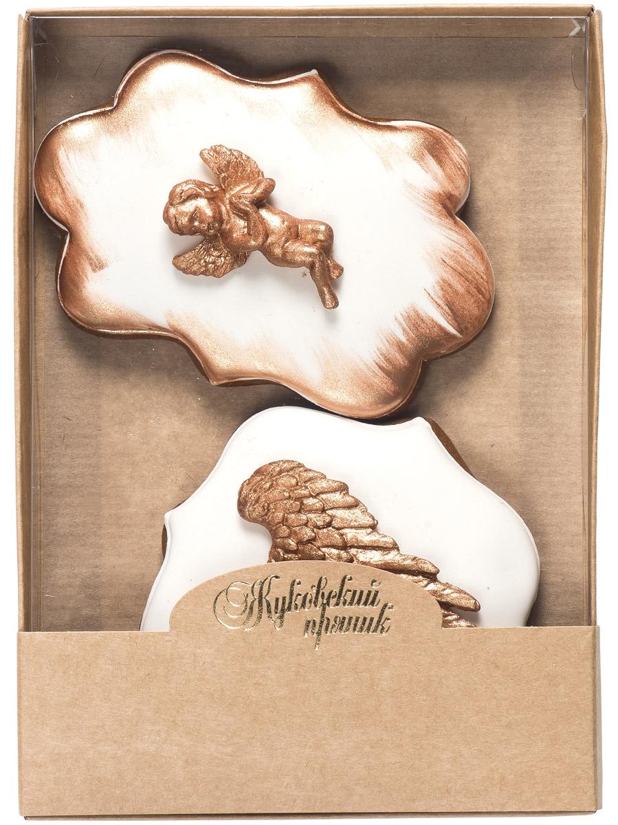 Жуковский пряник Подарочный набор Gold Love 2, 95 г00-00002525Медово-имбирные пряники с росписью из айсинга и декором из мастики. Чудесный набор пряного, медово-имбирного печенья, с романтичным, красивейшим декором , созданный специально для вас и ваших любимых ко Дню Святого Валентина! Набор таких пряничков непременно порадует ваших близких и станет отличным подарком к самому романтичному празднику! Уважаемые клиенты! Обращаем ваше внимание, что полный перечень состава продукта представлен на дополнительном изображении.